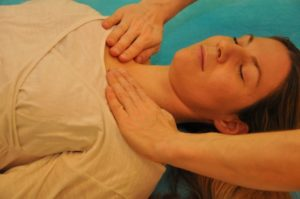 Reiki Position Bronchien